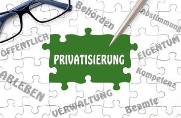 Privatisierung - Konzept