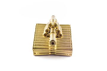Golden toy tank