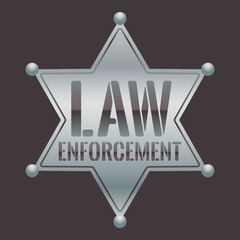 Sheriff Star Law Enforcement