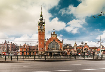 Main station of Gdansk