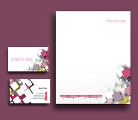 Interior Designers Corporate Identity Template.