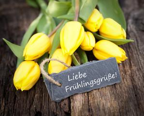 Liebe Frühlingsgrüße!