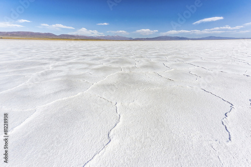 The Salinas Grandes in Jujuy, Argentina.