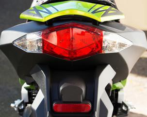 Motorroller in der Nahaufnahme