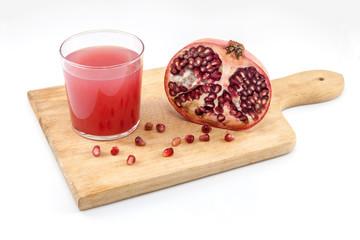 Pomegranate and grenadine