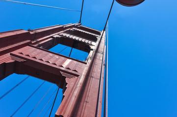 The Golden Gate Bridge Pillar, San Francisco