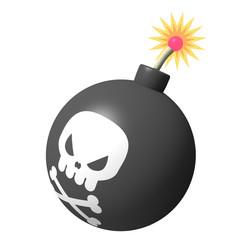 爆弾アイコン