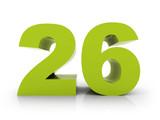 number 26 - 81231733
