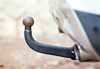 Car or vehicle hook hitch for trailer