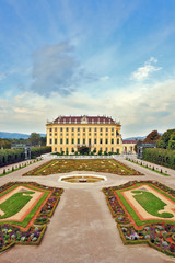 The summer residence of the Austrian Habsburgs.