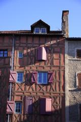 maison à colombages à Figeac