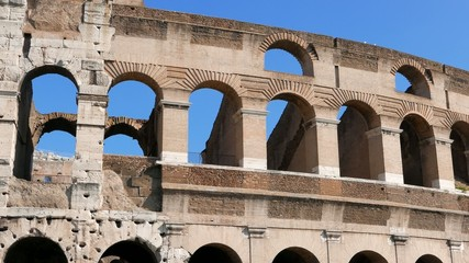Colosseum, Top. Rome, Italy