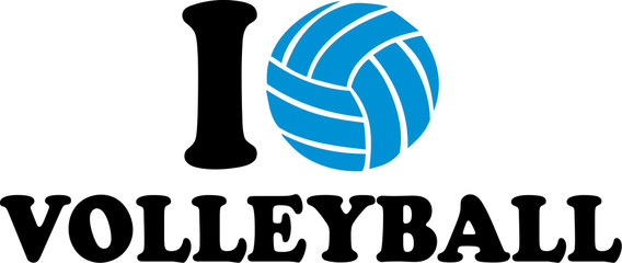I love Volleyball Ball