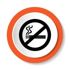 Vector icon no smoking
