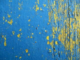 Niebieska stara farba