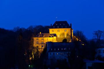 Burg Blankenheim zur blauen Stunde II