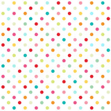 Naklejka polka dot background