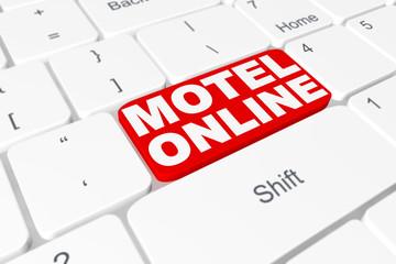 """Button """"Motel online"""" on keyboard"""