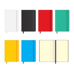 Moleskine notebooks.