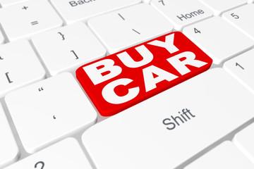 "Button ""BUY CAR"" on keyboard"