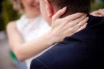 Чувственное свадбное фото