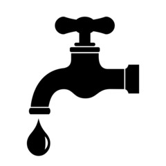 Faucet water icon