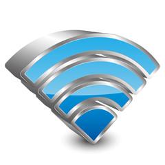 wireless 3D icon