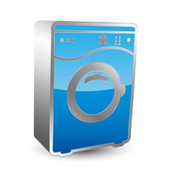 Washmachine 3D icon