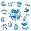 set of fourteen water icons - 81241162