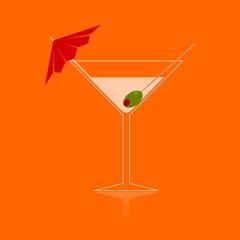 Martini - Illustration