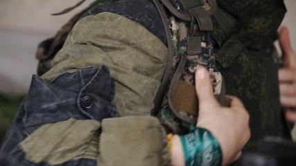 Commando dress сapacitive vest