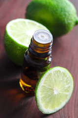 Essential lime oil