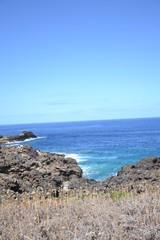 Wonderful rocky coast of the island of Ustica - Sicily