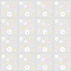 Oriental traditional floral ornament seamless pattern illustrati