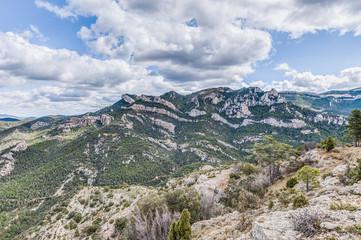 Penarroya peak at Teruel, Spain