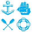 Nautical and Ocean Symbols - 81246590