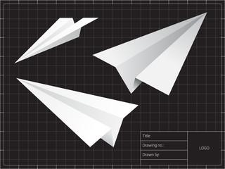 Airplane origami