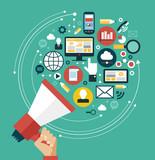Digital marketing concept - 81247764