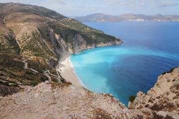 Greece, Kefaloniya, Myrtos Beach