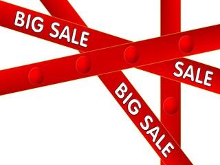 Big sale, illustration