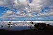 Leinwanddruck Bild - Stimmung am Meer