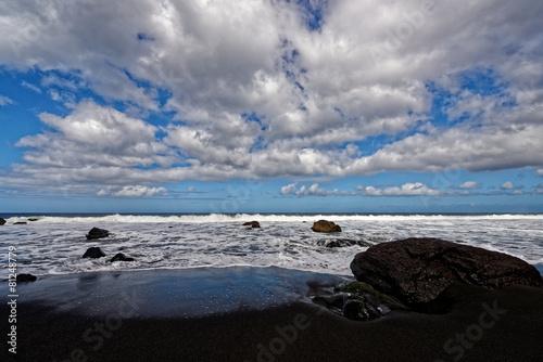 Leinwanddruck Bild Stimmung am Meer