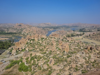 Hampi boulders from India