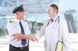 Leinwanddruck Bild - Aeromedical Aviation
