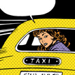 woman goes to taxi looks around separation anxiety love maniac p - 81251924