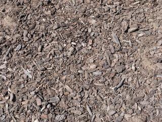 茶色い木屑