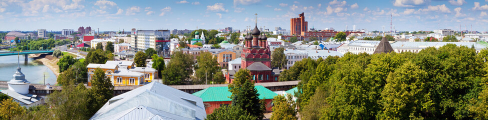 View of Yaroslavl