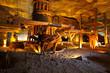 Leinwandbild Motiv Wieliczka salt mine near Krakow in Poland.