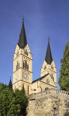 Church of St. Virgin Mary of Lourdes in Brestanica. Krsko