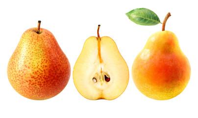 Fresh tasty pears